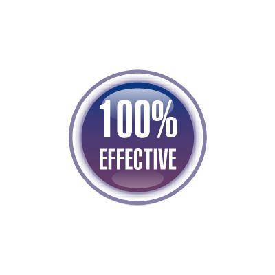 100% EFFEKTIV!