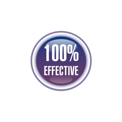 100% EFFECTIVE!